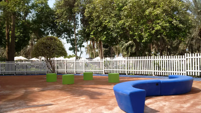 Hospitality Resort Leisure Out-Sider Denmark Loop Arc HopOp 500 colorful HDPE seating axendo